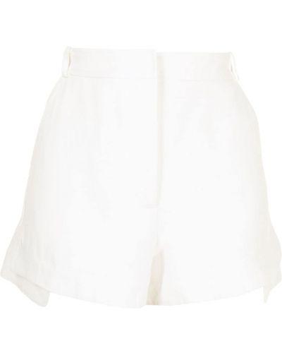 Белые хлопковые шорты Alexis