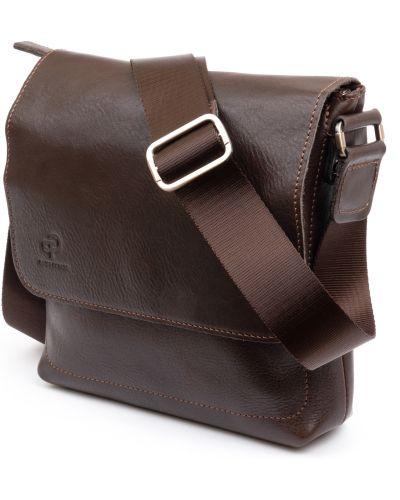 Кожаная сумка - коричневая Grande Pelle