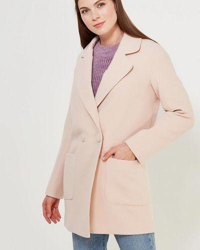 Бежевое пальто Grand Style