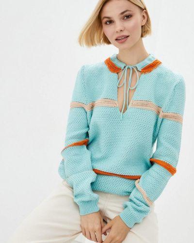 Бирюзовый пуловер Nataclub