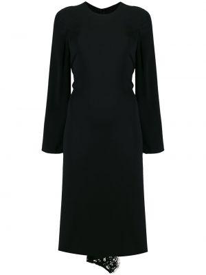 Платье миди каскадное на молнии Valentino