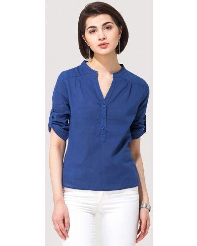 Синяя блузка Vilatte