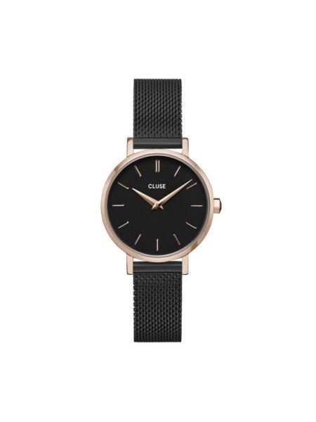 Czarny zegarek Cluse