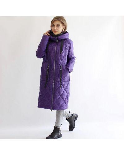 Стеганое пальто - черное Rozetka