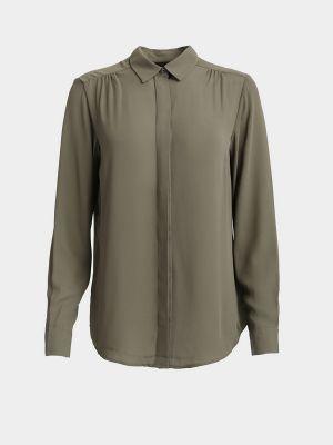 Блузка с длинными рукавами - черная Piazza Italia