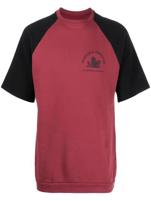 T-shirt z printem - czarne Raf Simons