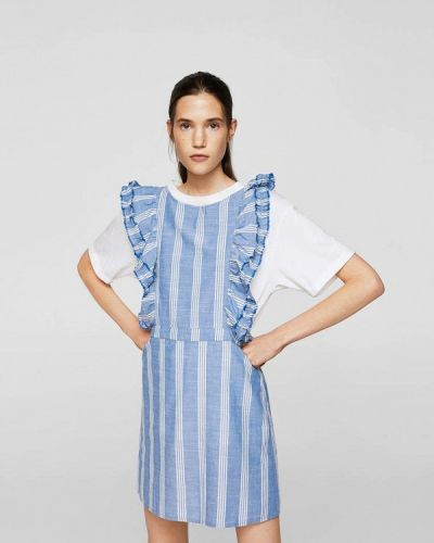 Голубое платье Mango