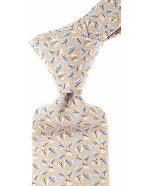 Krawat z motylami z jedwabiu Battistoni
