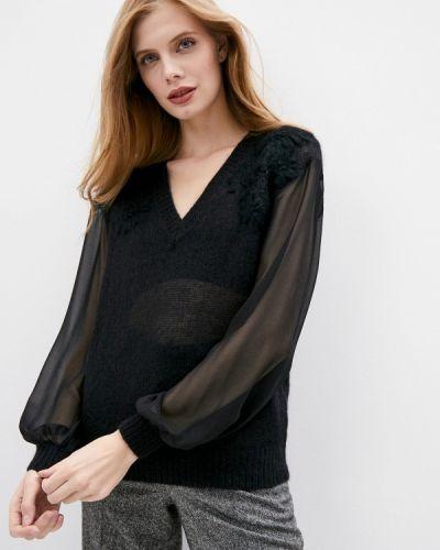 Черный пуловер Twinset Milano