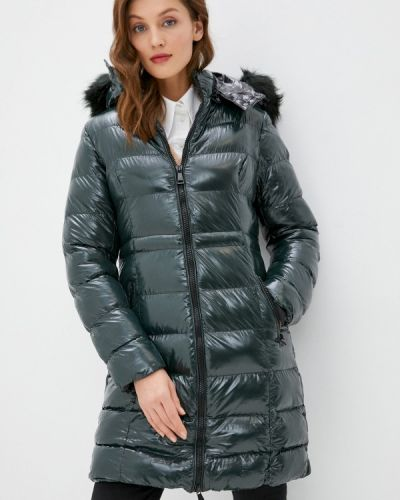 Зеленая утепленная куртка Macleria
