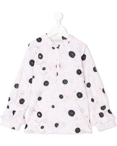 Блуза с принтом бежевая Baby Dior