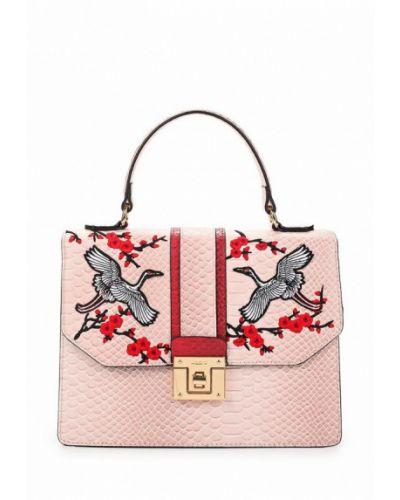 Кожаный сумка розовый Aldo