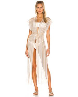 Платье с бахромой из вискозы Luli Fama