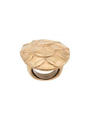 Кольцо металлическое Krizia Pre-owned