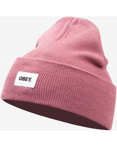 Вязаная шапка бини Obey