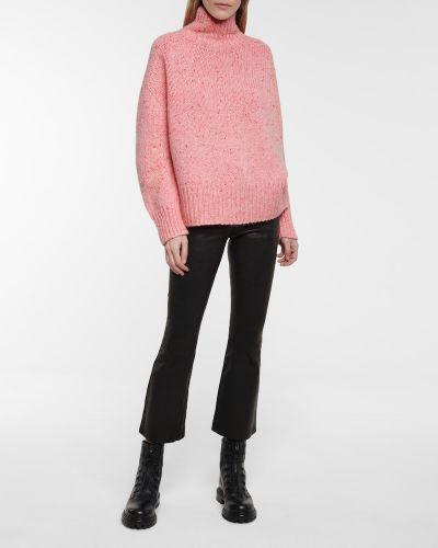 Różowy z kaszmiru sweter Dorothee Schumacher