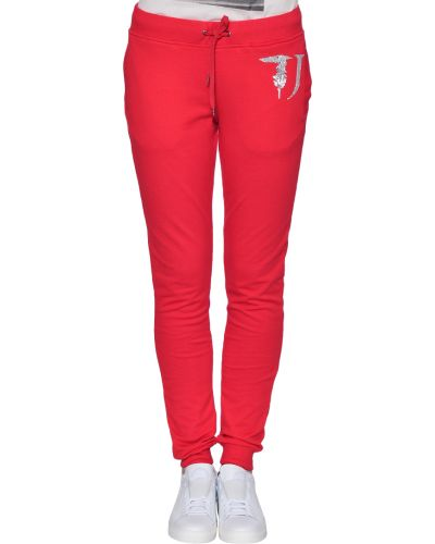 Спортивные брюки красный весенний Trussardi Jeans