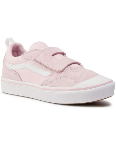 Różowy trampki Vans