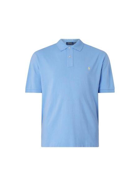T-shirt bawełniana - turkusowa Polo Ralph Lauren Big & Tall