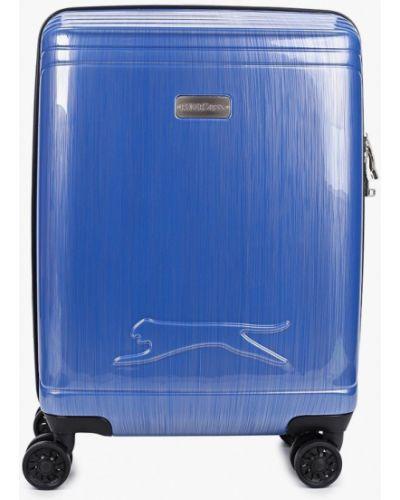 Синий чемодан Polar