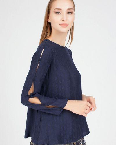 Блузка - синяя Serginnetti