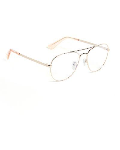 Niebieskie złote okulary The Book Club