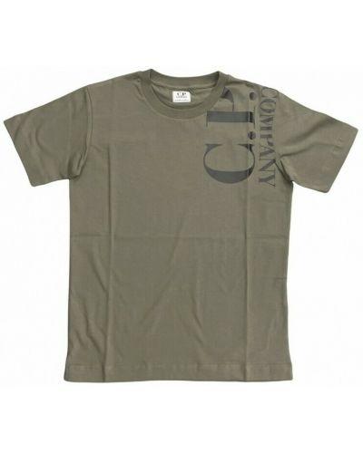 Zielona t-shirt C.p. Company