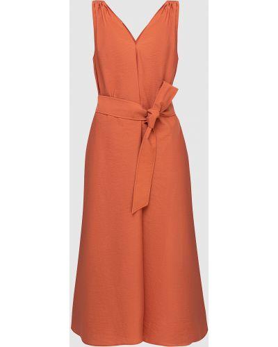 Красное платье миди Brunello Cucinelli