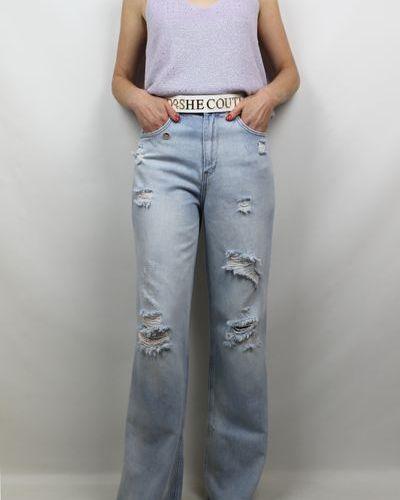 Джинсы - голубые Dishe Jeans