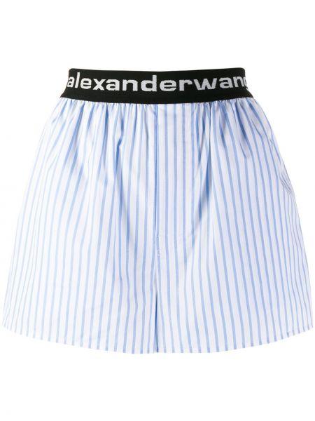 Szorty z paskami w paski Alexander Wang