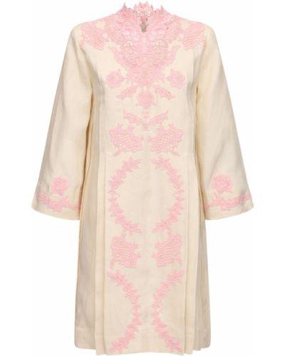 Льняное платье Gucci