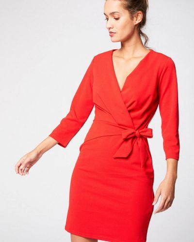 Платье прямое красный Morgan