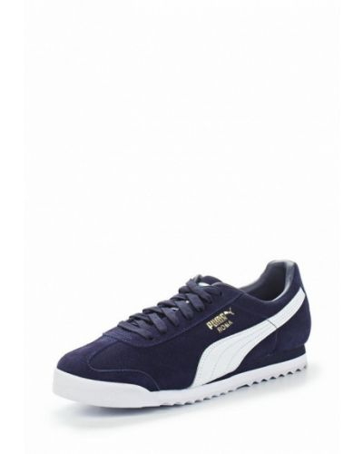 Синие кеды замшевые Puma