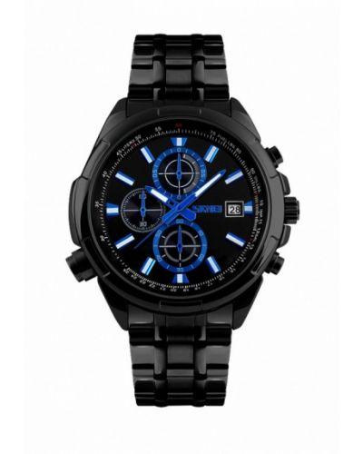 Черные часы Skmei