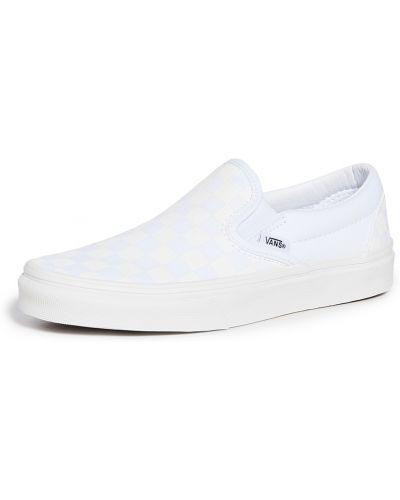 Klasyczne białe majtki szorty Vans