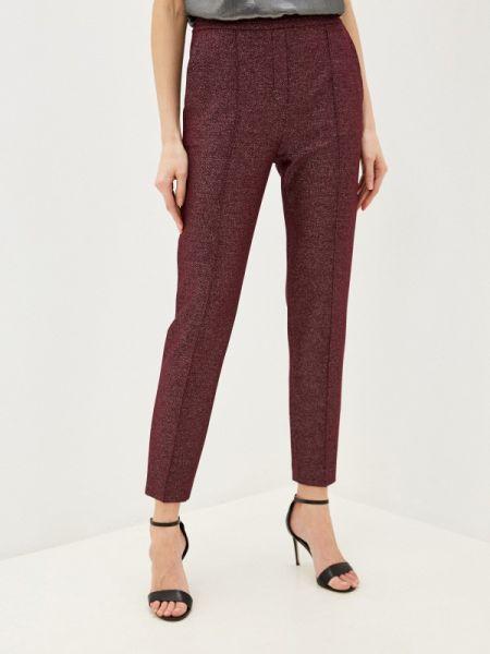 Красные классические брюки с карманами Hugo