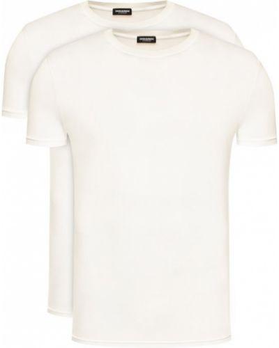 Biała koszulka Dsquared2 Underwear