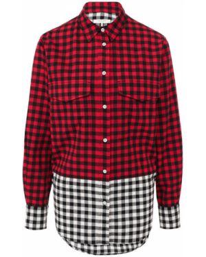 Рубашка с длинным рукавом - красная Rag&bone