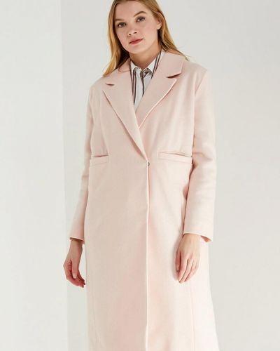 Пальто демисезонное розовое Chic