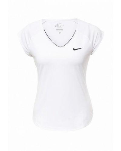 Белая спортивная майка Nike