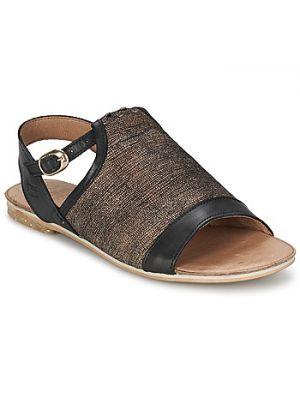 Czarne sandały Coqueterra