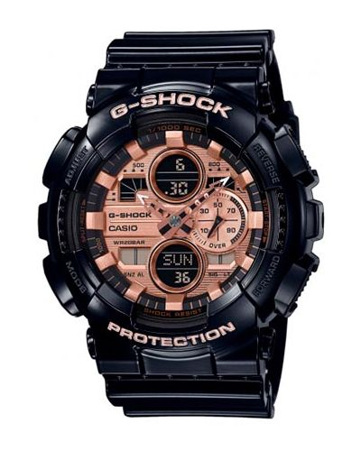 Czarny zegarek G Shock