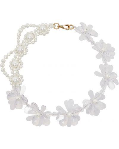 Ожерелье белый Simone Rocha