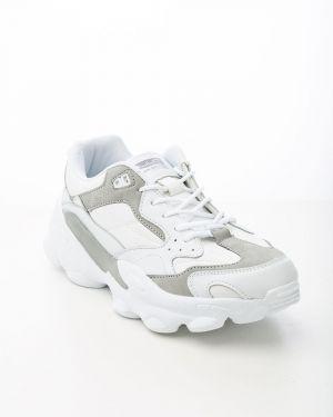 Спортивные белые кроссовки Saijun