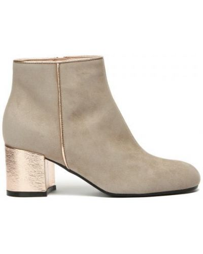 Ботинки серые серые Pollini