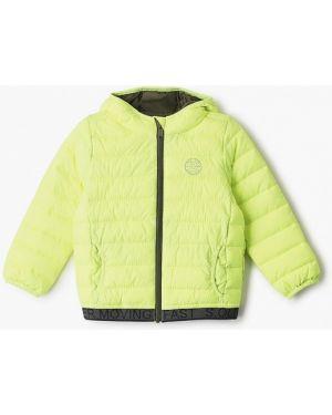 Куртка зеленый теплая S.oliver