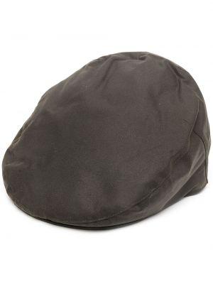 Bawełna zielony bawełna beret Barbour