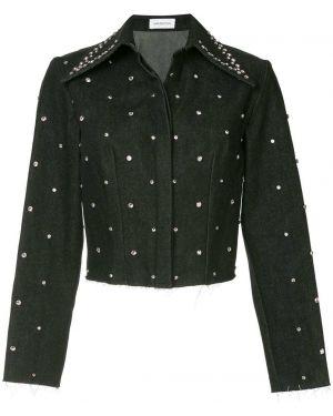 Черная джинсовая куртка 16arlington