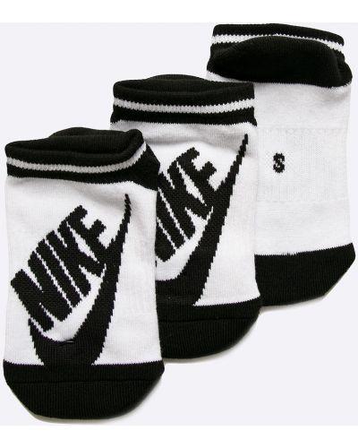 Колготки белые с узором Nike Sportswear