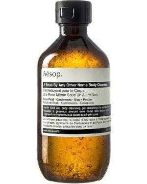Ciepły czarny body skórzany Aesop